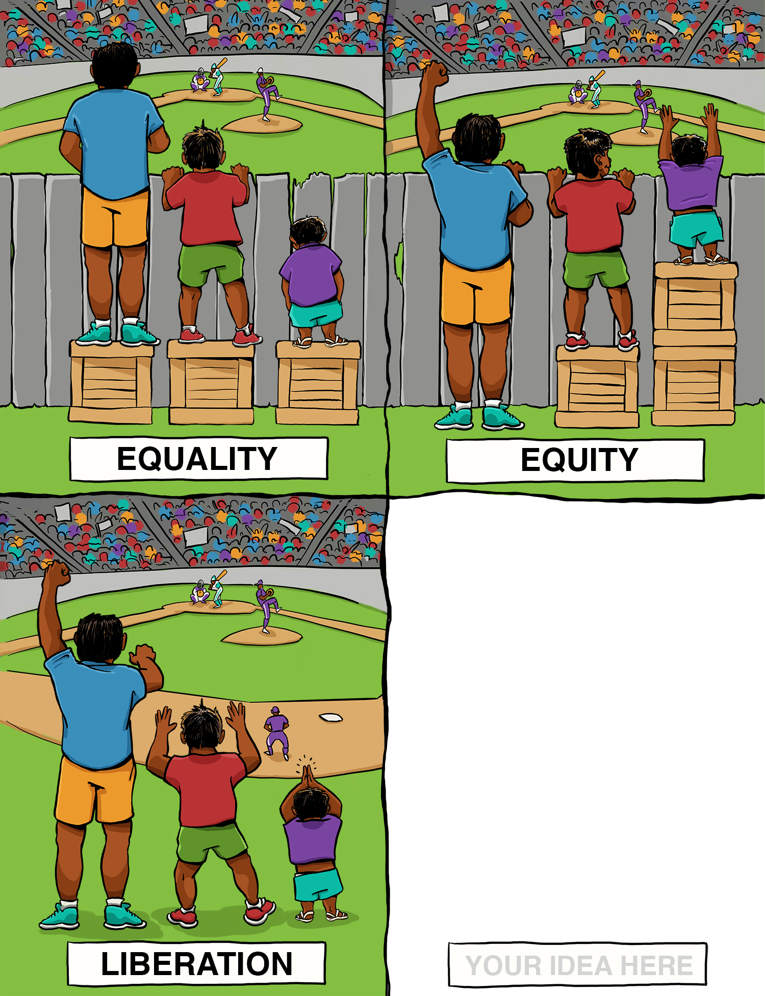 Equality Vs Equity Made With Angus